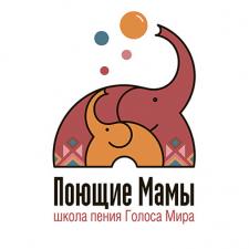 логотип для школы Поющие мамы