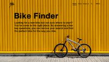 Header for Bike Finder