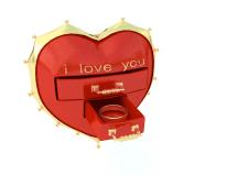 сердце с ящиком