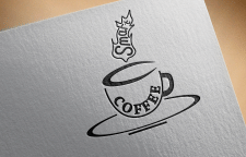 Лого для кофейни Smart Coffee