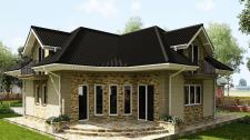 Дизайн фасаду будинку