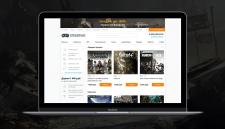 Полный ре-дизайн интернет-магазина ключей для игр