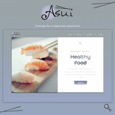 Design for a Japanese restaurant