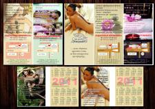 Дизайн флаера и карманного календаря