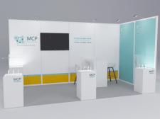 Дизайн выставочного стенда для MSP Solution