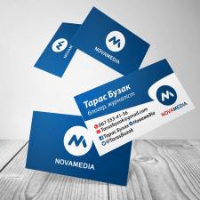 Дизайн візиток для блогера Тараса Бузака