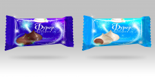 Концепция дизайна упаковки конфет вариант 1