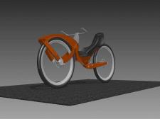 лежачий велосипед