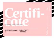 Розробка сертифікату