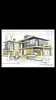 Загородный дом( концепт)