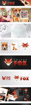"""Логотип для интернет-магазина настольных игор """"Tricky Fox"""""""