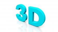 3D моделирование и визуализация текста