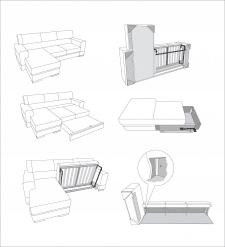 Схемы мебели