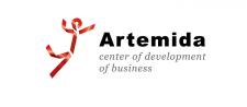 Логотип для центра развития бизнеса Артемида