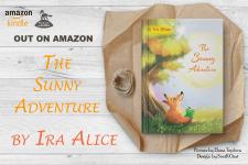 """The Sunny Adventure""by Ira Alice обложка до книги"