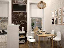 Кухня-студия для современной молодой семьи