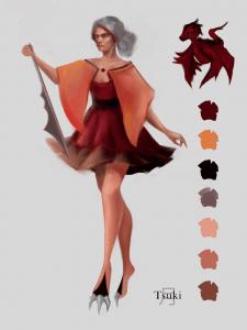 Концепт-арт персонажа