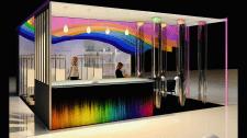 Выставочный стенд для косметической продукции