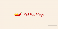 Логотип для ресторана Red Hot Pepper