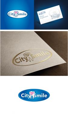 Логотип и фирменный стиль Стоматологии City Smile