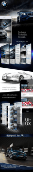Мобильное приложение для автосалона BMW