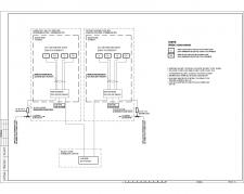 Схема системы контроля загазованности