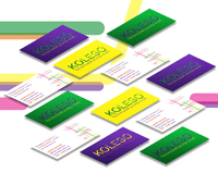 Rollerdrom Business Card