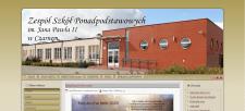 Сайт школы в польше