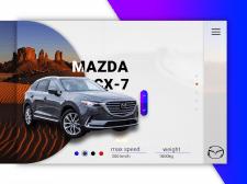 Mazda CX-5 Landing
