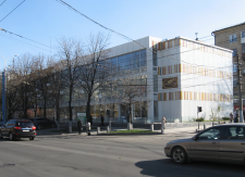 Реконструкция здания под кафе-пекарню (2011г.)