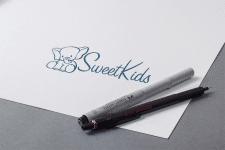 логотип для SWEET KIDS