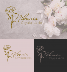 Логотип студія квітів