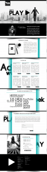 Адаптивная верстка по макету+посадка на Wordperess
