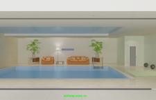 Дизайн комнаты с бассейном