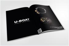 U-BOAT | Рекламный разворот в журнал Forbes