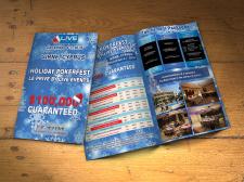 Буклет для предновогоднего покер-турнира на Кипре