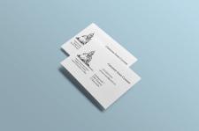 Дизайн визитки для священника