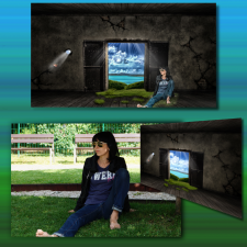 Обтравка, замена фона, стилизация фото