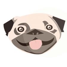 Ілюстрація собачка