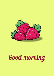 """Открытка """"Good morning"""""""