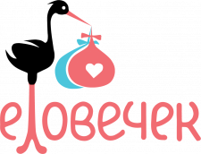 Логотип магазина товаров для маленьких детей