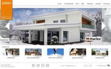 """Сайт-визитка торгового дома """"Jelovica"""""""