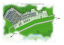 План поселка