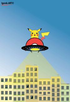 Покемоны захватили мир