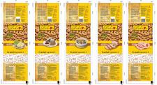 линейка упаковок для кукурузных палочек