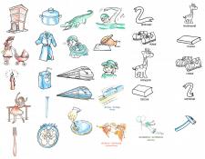 примеры изображений для обучающего сайта