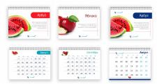 Разработка фирменного витаминного календаря