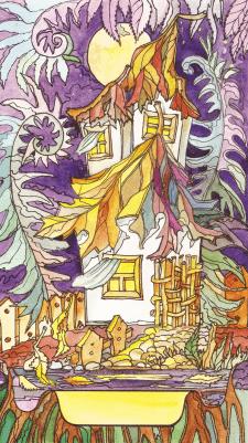 Карта Таро Башня