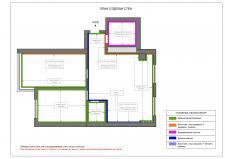 План отделки стен (образец)