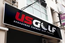 Логотип для US GOLF